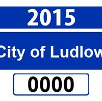 Ludlow City Sticker Information