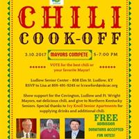 Mayor's Chili Cook Off--March 10, 2017