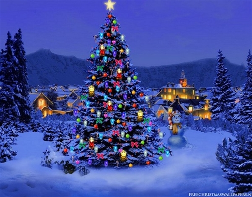 Christmas Tree Lighting Amazing Ideas