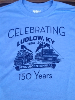 Purchase Your Ludlow Sesquicentennial Tee Today!